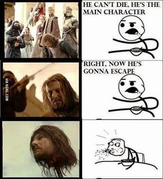 #GameOfThrones Ned Stark Beheading Was A Shock | Meme | Game Of Thrones Memes and Quotes