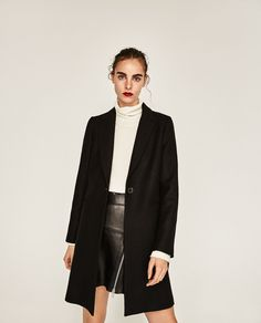 ZARA - COLLECTION SS/17 - MASCULINE COAT