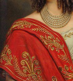 Princess Auguste Ferdinande of Bayern by Josef Bernhardt,1845 - Click to enlarge