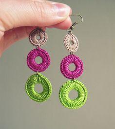 Crochet Earrings  by FrEEna