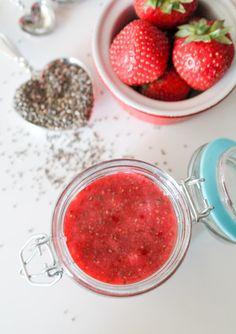 Strawberry Chia Seed Jam – Vegan & Gluten Free