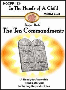 The Ten Commandments Lapbook
