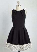 Luck Be a Lady Dress in Black and Lace size 16 | Mod Retro Vintage Dresses | ModCloth.com