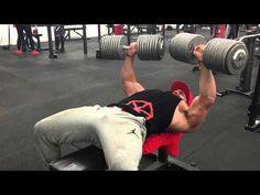 180lb dumbbell | Bradley Martyn - YouTube