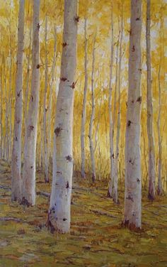 Gold Rush by Kathleen Dunphy Oil ~ 48 x 30