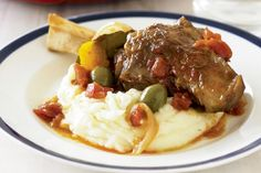 Try an interesting twist on lamb shanks by adding these Spanish flavours.