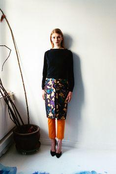 Osman Pre-Fall 2014 Collection Slideshow on Style.com
