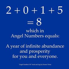 A year of infinite abundance....