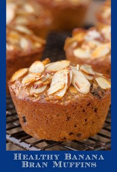 These Healthy Banana Bran Muffins are super delicious and great to make ahead. Freeze them so that even on busy days, everyone can enjoy a healthy breakfast. #bananamuffins #healthymuffins #breakfast Muffin Recipes, Brunch Recipes, Breakfast Recipes, Banana Bran Muffins, Healthy Muffins, Perfect Breakfast, Chocolate Recipes, Good Food, Freeze
