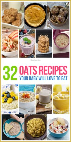 32 Easy & Yummy Oats Recipes Your Baby Will Love To Eat