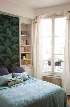 Discover more pictures & inspiration on Ringthebelle Story Store, Cole And Son, Loft, Curtains, Master Bedrooms, Inspiration, Place, Bedtime, Furniture