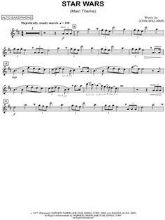 Star Wars (Main Theme) - Alto Sax sheet music from Star Wars