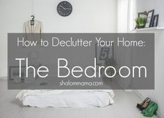 If your bedroom feels more like cluttered chaos than peaceful haven, try these simple tips to help you declutter and create a space you love.