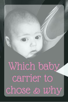 What carrier to chose & why. Is it better to carry baby in a backpack carrier or a wrap? What are the pros and cons of the great debate? Moby wrap review