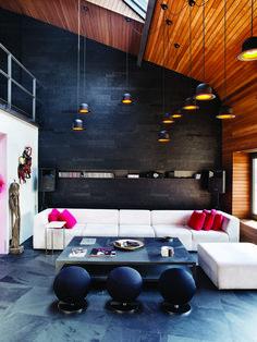 Istanbul, Turijke, Yasemin Arpac, Sabahattin Emir, Osfit Studio, kleurrijk, penthouse - Kleurrijk penthouse in Istanbul