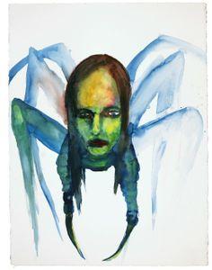 Great white spider - marilyn manson marilyn manson paintings, marilyn m Arte Marilyn Manson, Marilyn Manson Paintings, Naive Art, Portrait Art, Alter Ego, Dark Art, Art Inspo, Watercolor Art, Cool Art
