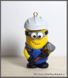 Constructor Minion Despicable me - Christmas tree ornament