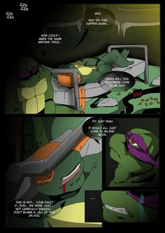TMNT (fanmade) Same as it never was Aftershock _2 by FleshCreature on DeviantArt