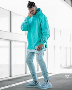 WEBSTA @trillestoutfit Dope or nope ?   Via @mensfashion_guide Trillest outfit by @solo_elvis  Hoodie: only the blind Pants: pacsun Shoes: yeezy boost 350