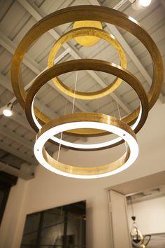 Cote Deco Showroom.. Henge Ring Light @henge07
