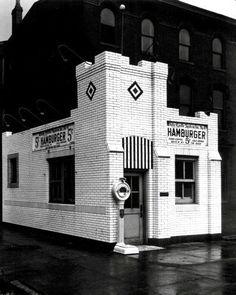 #4 WHITE CASTLE RESTAURANT BUILDING LOUISVILLE KENTUCKY 1930'S
