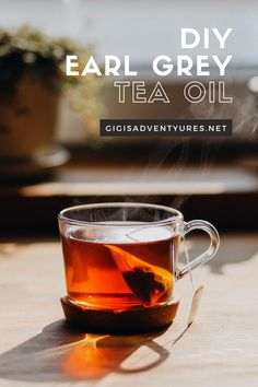 Brewing Tea, Home Brewing, Diy Hair Oil, Diy Haircare, Earl Grey Tea, Beauty Recipe, Face Oil, Diy Skin Care, Tea Recipes