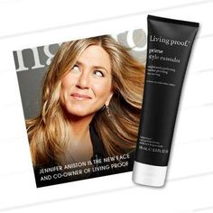 Jennifer Aniston: the new face and co-owner of Living Proof. #Sephora