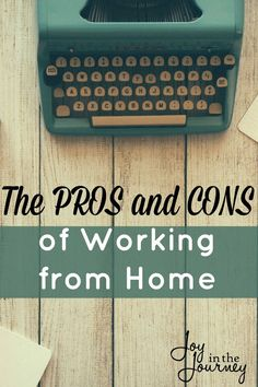 Working at home is not always pretty. Here are a few pros and cons of working…