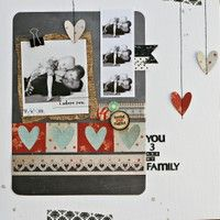 love these hanging hearts!  layout by treezy via @2Psinabucket