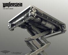 "Tor ""Snefer"" Frick´s art : Wolfenstein: The New Order artdump part 2"