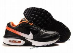 online retailer 15206 88a5a Cheap Authentic Nike Air Max Classic BW 91 Mens Black Orange And White Shoes  Clearance Store