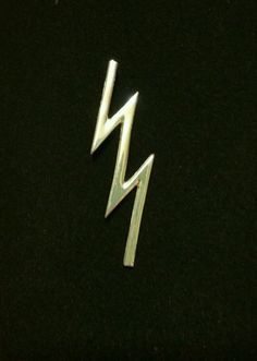 Jewel Tie 14k White Gold Maryland Lapel Pin