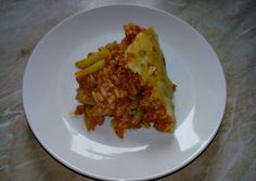 Besamel-es rakott zöldbab recept foto Food 52, Tacos, Pork, Food And Drink, Breakfast, Ethnic Recipes, Pork Roulade, Pigs, Morning Breakfast