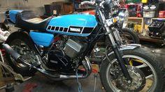 77 Rd 400 hybrid rdshaw400@gmail.com Bike Builder, Cafe Bike, Yamaha, Vehicles, Motorcycles, Car, Motorbikes, Motorcycle, Choppers