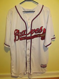 Brian MccAnn , Atlanta Braves Authentic jersey , 52