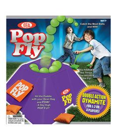 Another great find on #zulily! Pop Fly Game by Ideal #zulilyfinds