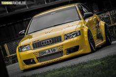 Audi A4 - YellowSubA4, V6 2.7 BiTurbo, 8E, BJ  von Huckleberry - Nr. 355638 - Tuningsuche.de