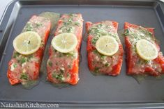 Instructions Preheat the oven to 450° F and line a rimmed baking dish with foil.      In a small bowl, combine 2 Tbsp freshly chopped par...