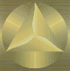 Círculo y Triángulo, 1972 - Serigrafía
