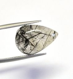 Your place to buy and sell all things handmade Tourmalinated Quartz, Drop, Black Tourmaline, Natural Gemstones, Product Description, Etsy, Jewelry, Jewlery, Jewerly
