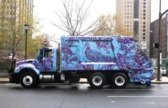 if only all dump trucks were this pretty...