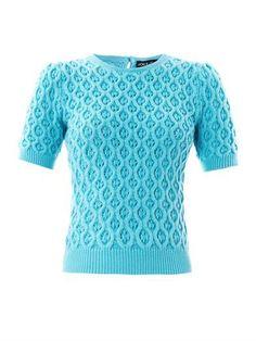 Textured cashmere sweater | Dolce & Gabbana | MATCHESFASHION.COM