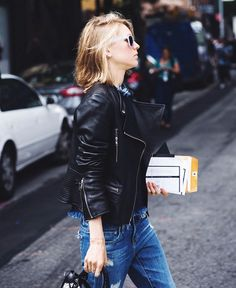 63 Denim Street Style Looks to Inspire You Now via @WhoWhatWear  want!!