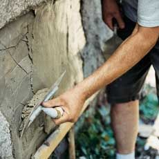Exterior: Stucco Repair via This Old House