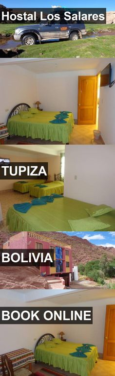 Hotel Hostal Los Salares in Tupiza, Bolivia. For more information, photos, reviews and best prices please follow the link. #Bolivia #Tupiza #travel #vacation #hotel