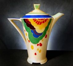 RARE ROYAL DOULTON ART DECO ' GAYLEE '  COFFEE POT #CoffeePots