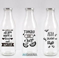 Writing on bottles for gifts Old Garage, Silhouette Curio, Succulents In Containers, Bottle Painting, Ceramic Painting, Transparent Stickers, Ceramic Bowls, Bottle Crafts, Beer Bottle