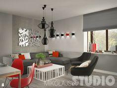 Salon w stylu nowoczesnym - zdjęcie od MIKOŁAJSKAstudio - Salon - Styl Nowoczesny - MIKOŁAJSKAstudio
