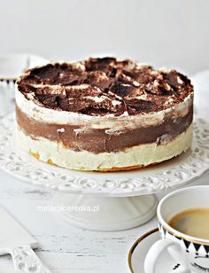 Food Cakes, Tiramisu, Ale, Cake Recipes, Breakfast Recipes, Bakery, Food Porn, Food And Drink, Tasty