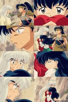 Awwwwww!!!! I love this moment with kagome and inuyasha!!!!!! Poor koga though.......